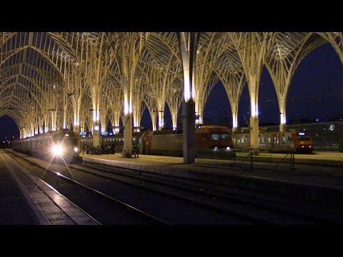 Estação de Lisboa-Oriente CP Comboios de Portugal Lisbon Oriente Railway Station
