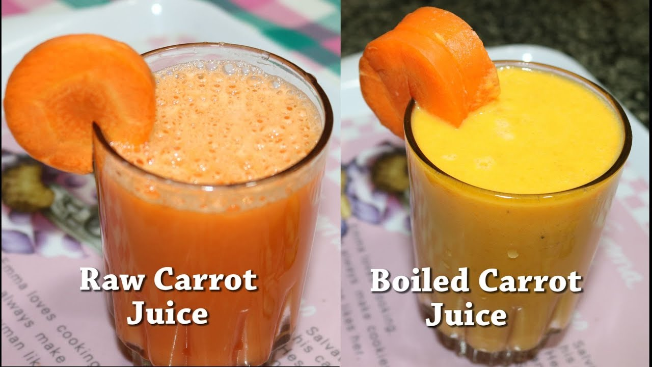 How to make Carrot Juice  Summer special Healthy carrot juice with Milk   Devee kitchen