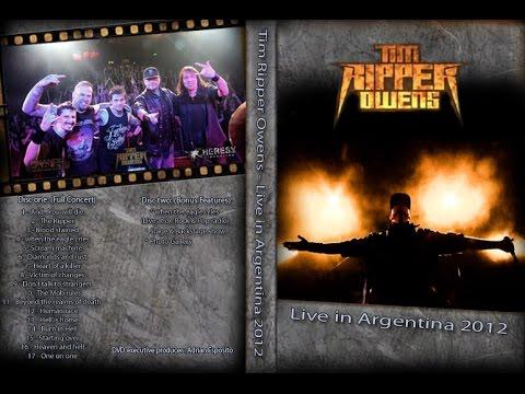Tim Ripper Owens Full Concert DVD - Latin AmericanTour - Esposito - Telis - Villamil - Paleari