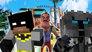Minecraft: PopularMMOs Rescued from Hello Neighbor Basement