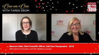 Shannon Dahl, Cell Care Therapeutics - 2020 PharmaVOICE 100