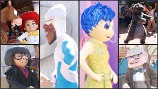 Pixar Pier Character Meet & Greets! New Pixar Pier Premier Event! Disneyland Resort! Edna! Joy!
