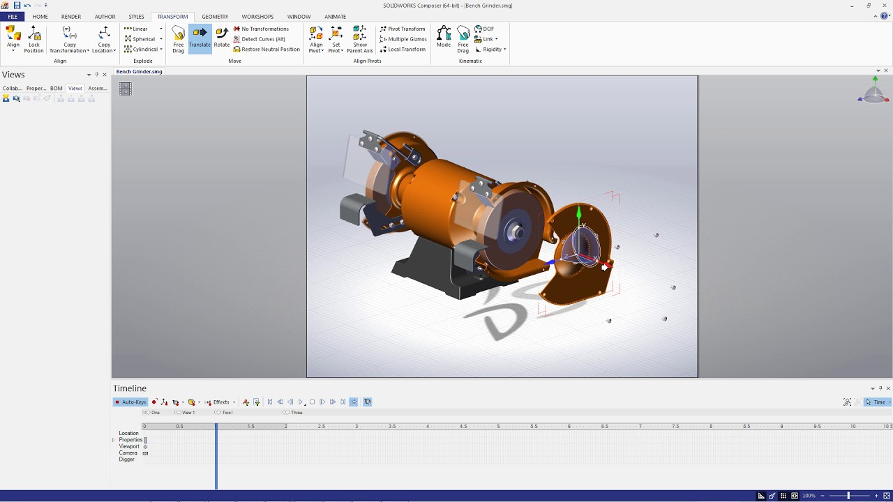 Solidworks animation tutorial   feature tree youtube.