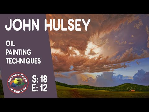 Fine Art Tips with John Hulsey on Colour In Your Life