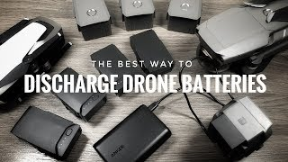 Best Way To Discнarge DJI Drone Batteries for Travel