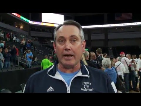 Sioux Falls Lincoln - AA Boys Basketball Champions - post game footage