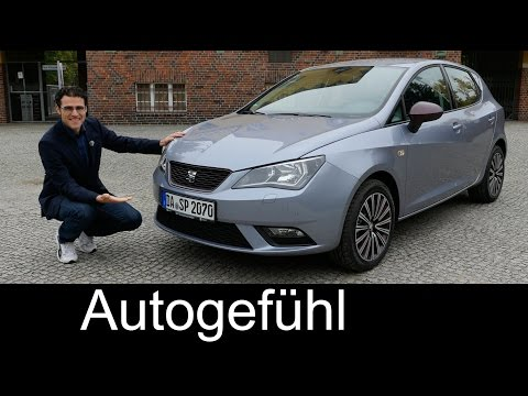 Seat Ibiza Facelift FULL REVIEW test driven 1.2 TSI new neu 2016 - Autogefühl