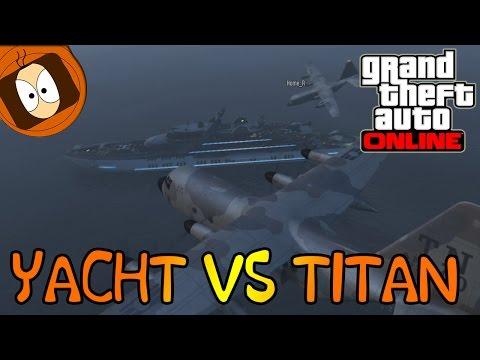 GTA ONLINE | LE YACHT LE PLUS CHER DU JEU : L'AQUARIUS VS TITAN !! | TRUANDS EN COL BLANC