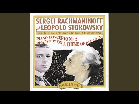 Rhapsody on a Theme of Paganini op.43 Variation VI: L'istesso tempo mp3