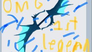 ROBLOX: omg tengo mi 1a legendaria... alas de serpientes marinas, 360 olla!
