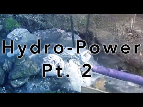 Micro Hydro Power with Turgo generator Part 2