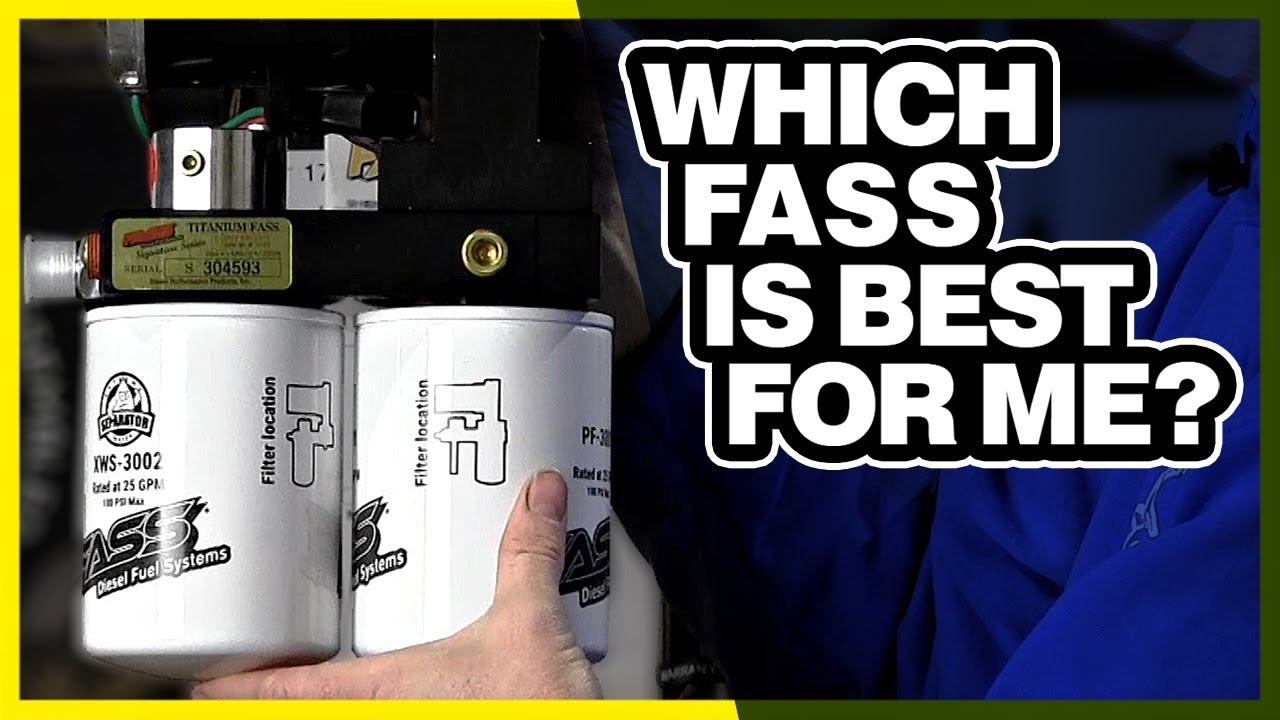 Fass Fuel Particulate Filter /& Hydroglass Extreme Water Separator Filter