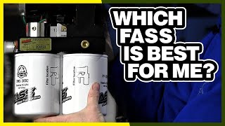 FASS Fuel Air Separation Systems Overview: Which FASS Is Best 4 Me?