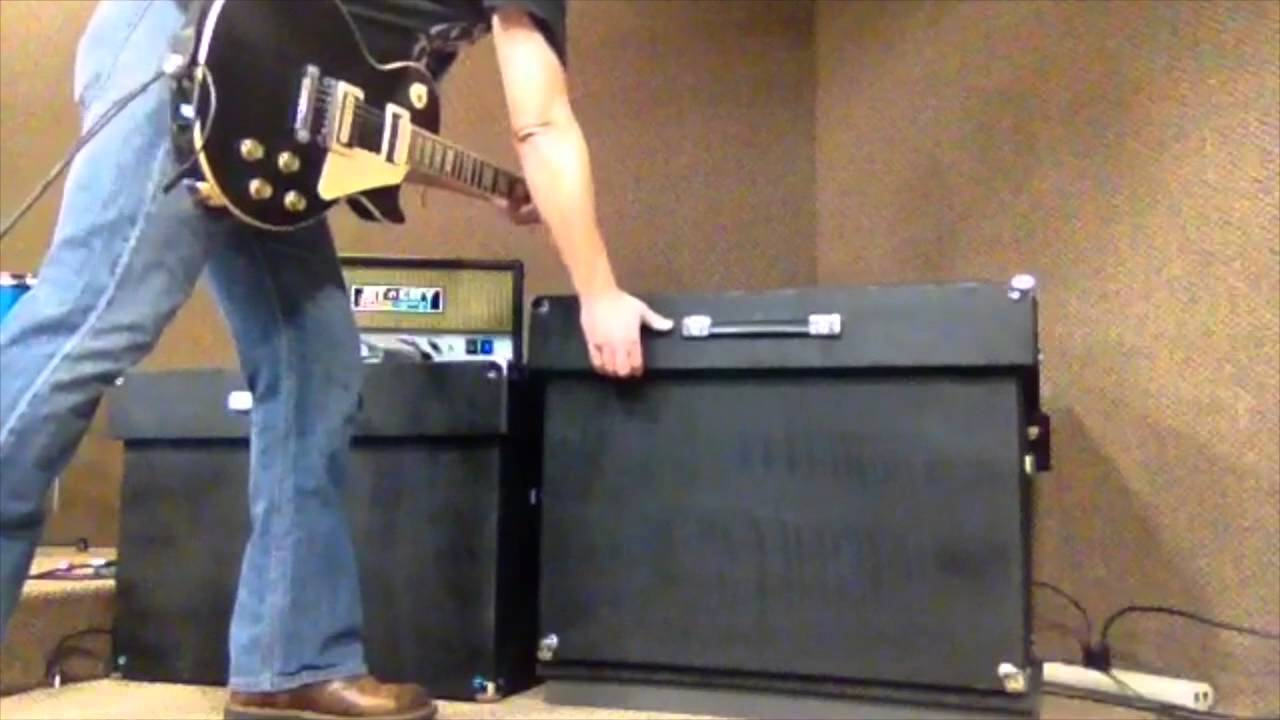 Guitar Cabinet Isolation Box - YouTube