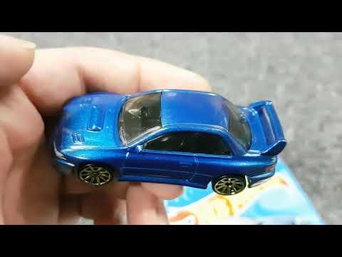 2020 Hot Wheels 98 Subaru Impreza 22B STi unboxing/opening carded