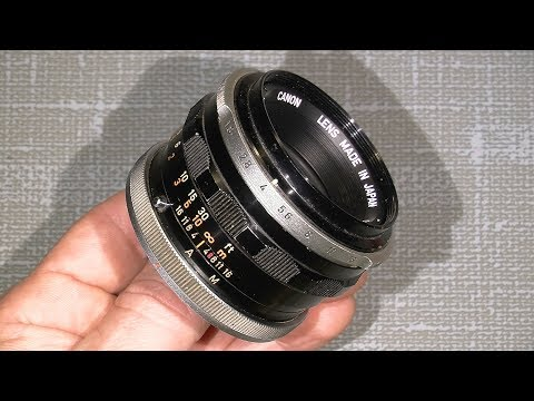 Repair Canon FL 50mm 1:1.8 and Re-grease the focus system