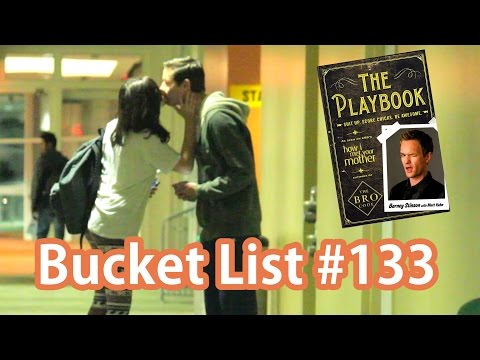 Picking Up Girls Using Barney Stinson's Playbook | Bucket List #133