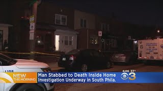 Man Stabbed To Death In South Philadelphia