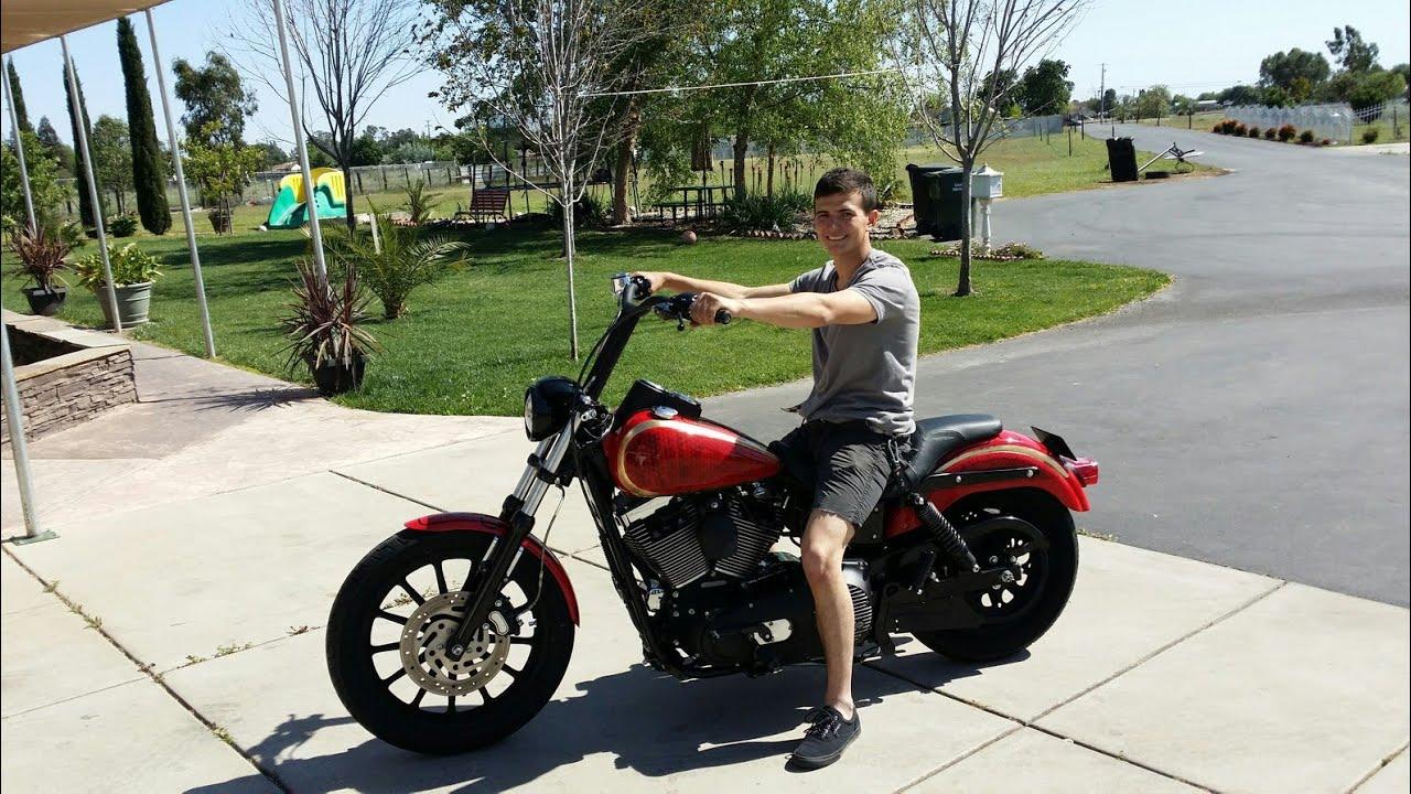 Custom Harley Davidson Dyna Fxdl Build