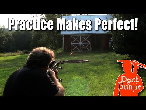 How To Practice With BROADHEADS And Your CROSSBOW!