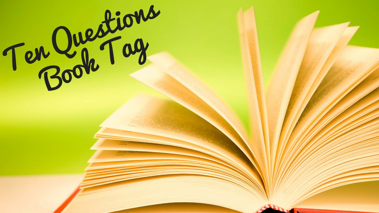 Image result for the ten questions book tag