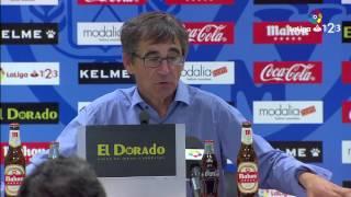 Rueda de prensa de Fernando Vázquez tras el Rayo Vallecano vs RCD Mallorca (1-0)