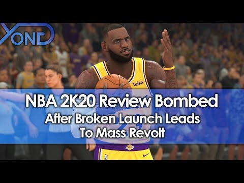 NBA 2K20 Review Bombed After Broken Launch Leads To Mass Revolt