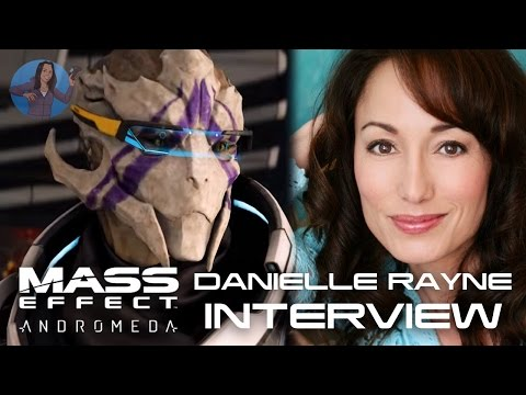 Mass Effect Andromeda, Vetra | Danielle Rayne INTERVIEW