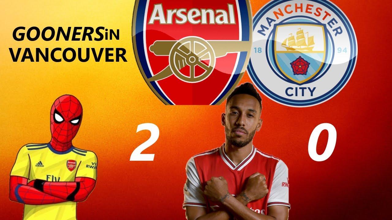 ARSENAL VS MAN CITY 2-0 SEMI FINALS FA CUP | #ARSMCI # ...