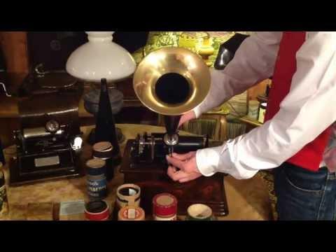 Gramophone Phonograph Edison Bell for Restorationde YouTube · Haute définition · Durée:  5 minutes · vues 53 fois · Ajouté le 14.12.2017 · Ajouté par Samar Elhajj
