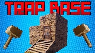 TRAP BASE - Sneaky Ladder Hatch Trap | RUST