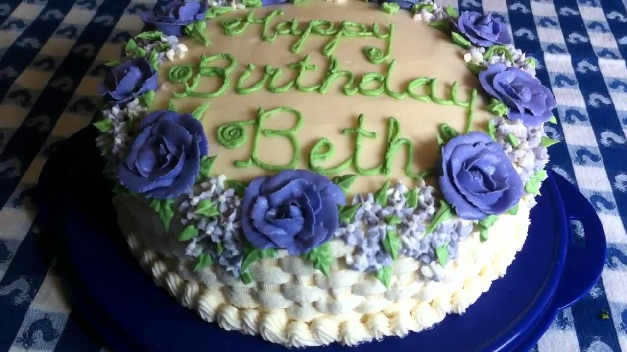Beth Birthday Cake