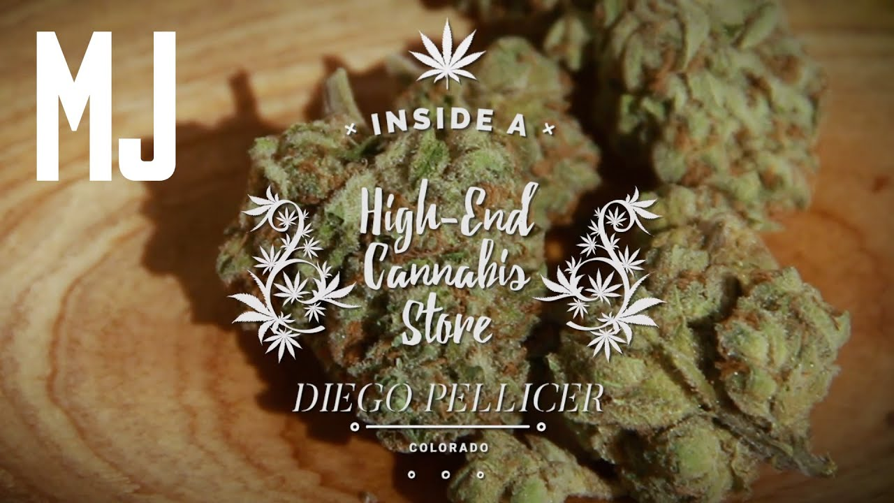 Inside a High-End Cannabis Store