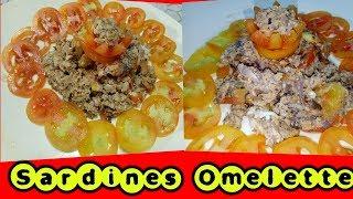 Omelette Sardines/How to make Omelette Sardines