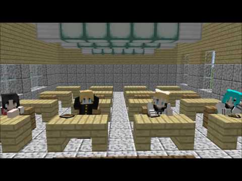 Minecraft Vocaloid Edition | La Escuela | Loquendo