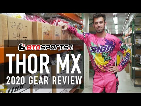 NEW Thor MX 2020 Gear Review