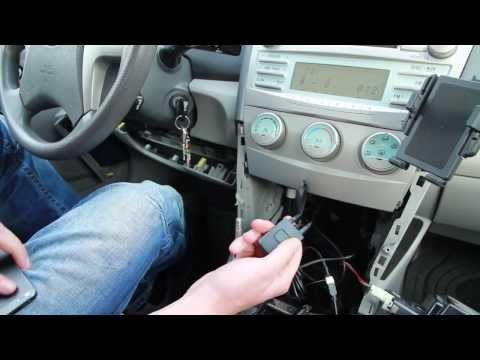 Toyota Camry 2007-2011 Bluetooth Extension installation by GTA Car Kits