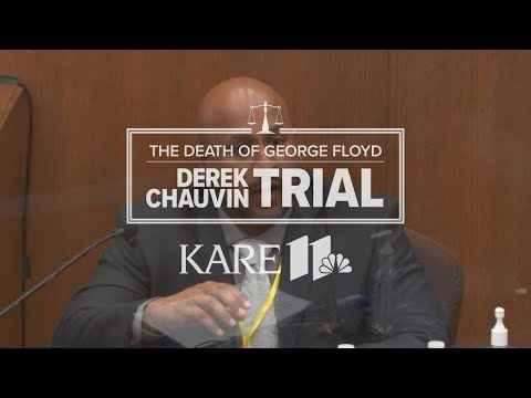 WATCH LIVE - Derek Chauvin trial: BCA Special Agent James Reyerson testifies on use of force