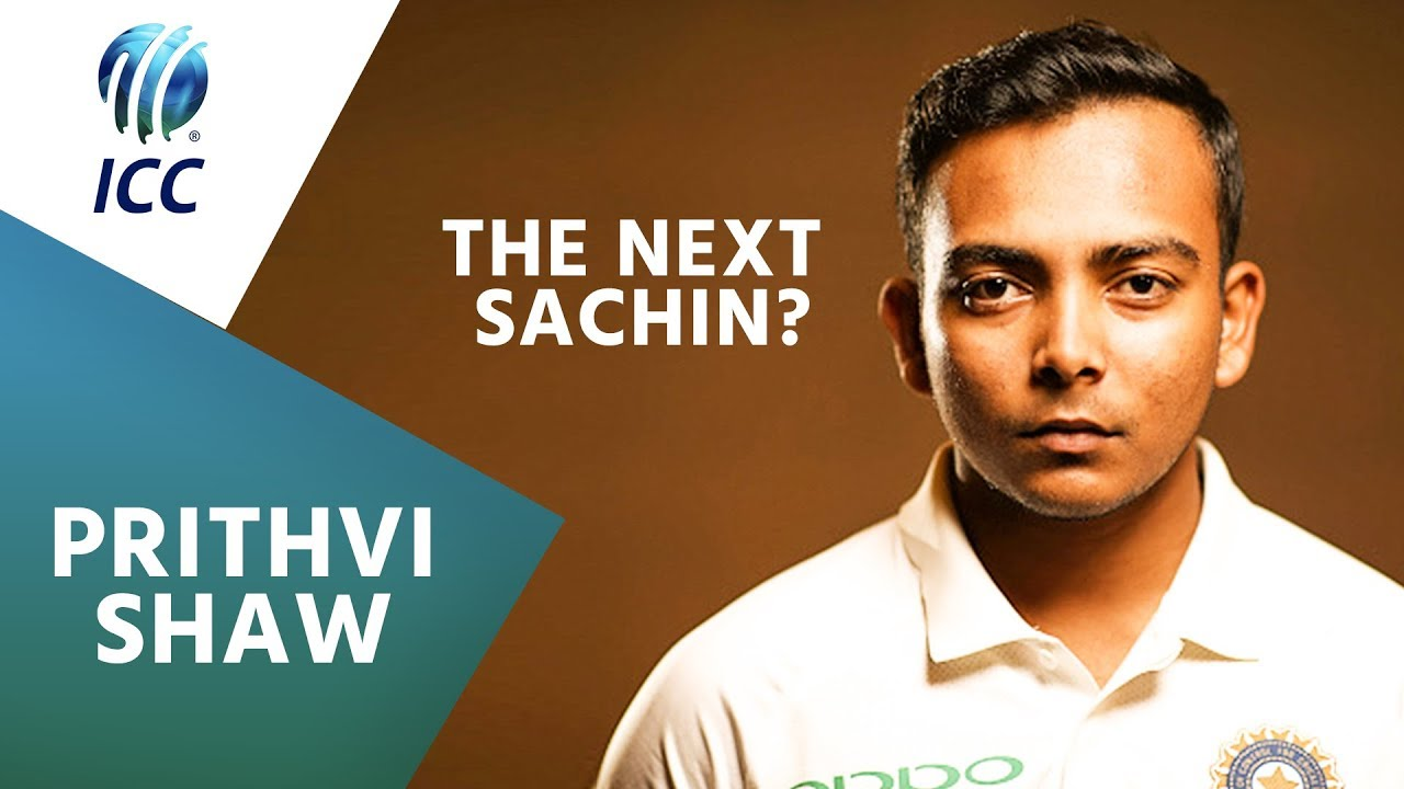 Prithvi Shaw...the next Sachin? | ICC Player Feature