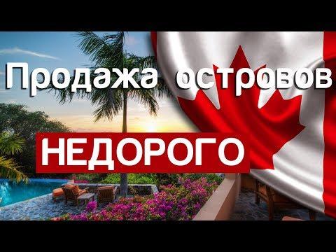 Купите остров недорого. Цены на остров в Канаде дешевле квартиры в Москве