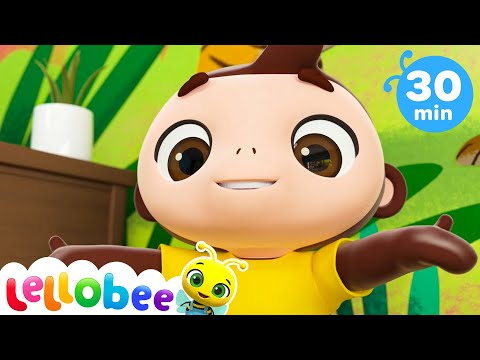 Peek a Boo Song | +More Nursery Rhymes & Kids Songs - ABCs and 123s | Little Baby Bum