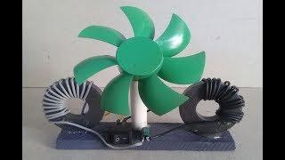 free energy generator magnet coil with fan new idea   sciences proj...