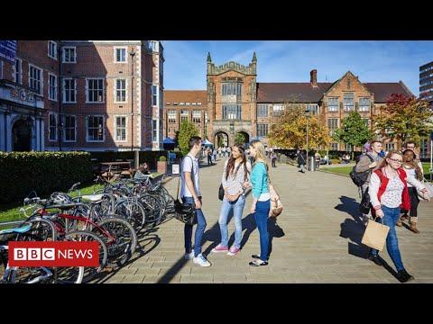Universities prepare for student return - BBC News