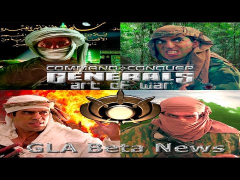 Command & Conquer Generals Zero Hour GLA gameplay(tactic)