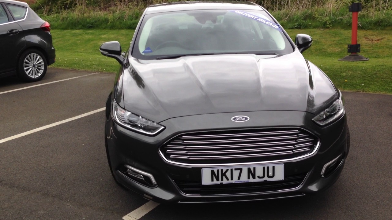 Used Ford Mondeo 2 0tdci 150 Econetic Titanium Magnetic