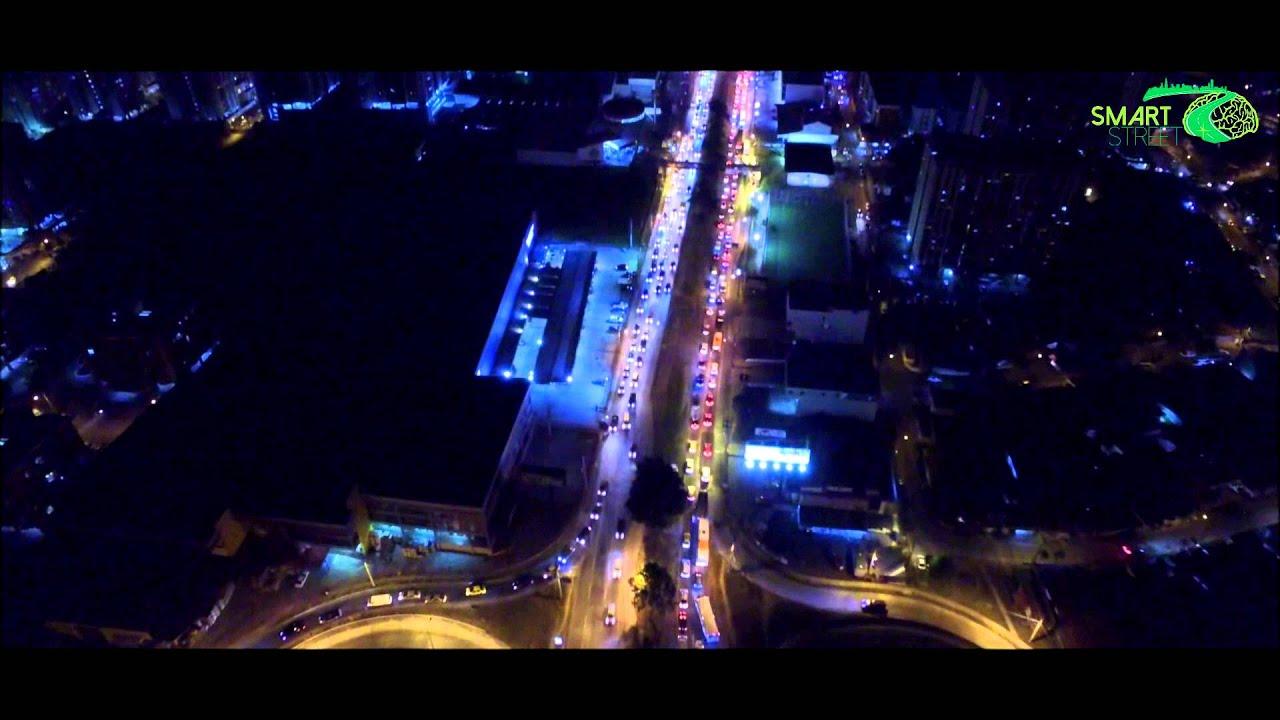 Vista Aérea Nocturna Ciudad De Panamá Youtube
