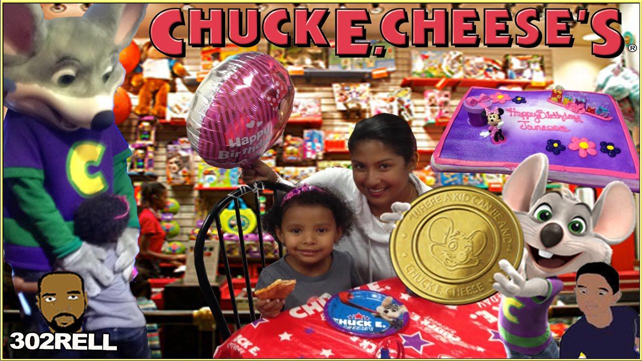 Janessas Chuck E Cheese Birthday Party Pizza Arcade Games