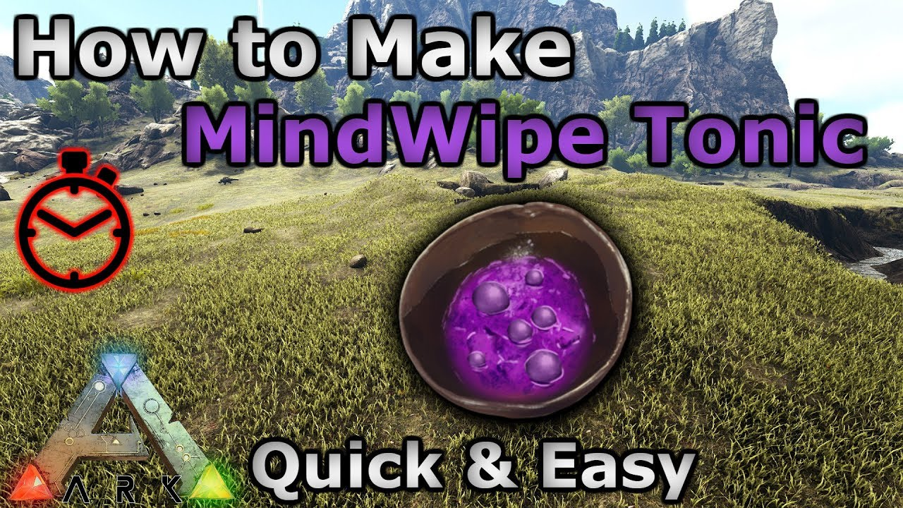 Mindwipe Tonic - Official ARK: Survival Evolved Wiki