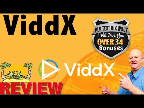 ViddX Review With My Massive Total Bonuses. http://bit.ly/2zsLjhc