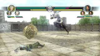 Musou Orochi Z PC Gameplay Vs mode Round 1